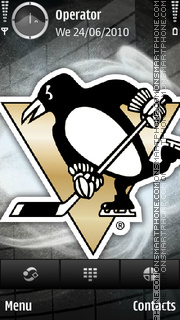 Pittsburgh Penguins - NHL es el tema de pantalla