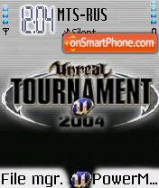 Ut2004 es el tema de pantalla