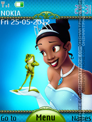 Princess Frog tema screenshot