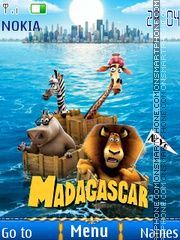 Madagascar 3 tema screenshot