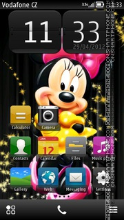 Minnie 01 theme screenshot