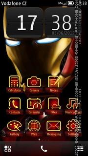 Скриншот темы Iron Man ^ 3