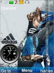Adidas Theme-Screenshot