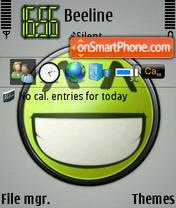Smile 02 theme screenshot