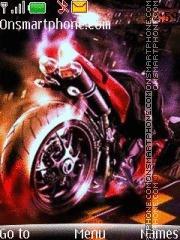 Скриншот темы Ducati 1092