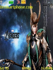 Avengers Loki theme screenshot