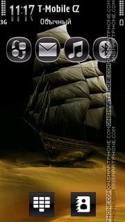 Sailing The Desert theme screenshot