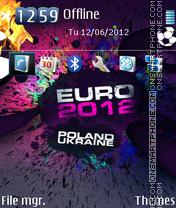 UEFA Euro 2012 01 es el tema de pantalla