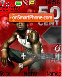 50 Cent 03 theme screenshot