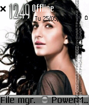 Katrina Kaif 25 theme screenshot