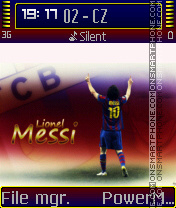 Lionel Messi 03 theme screenshot
