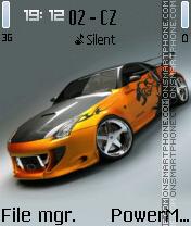 Скриншот темы Nissan GT