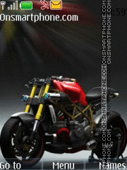 Ducati Demon theme screenshot