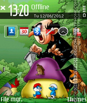 Smurf 03 theme screenshot