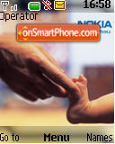 Nokia Baby Connect tema screenshot