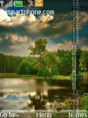 Скриншот темы Beautiful Landscape 01