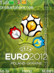 Euro 2012 Green theme screenshot