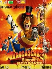 Madagascar 3 02 theme screenshot