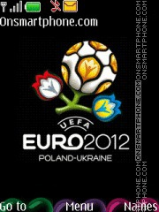 Euro Cup With Icons theme screenshot