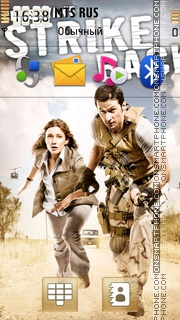 Strike Back 02 tema screenshot
