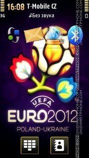 Euro 2012 - Football 01 theme screenshot