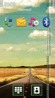 Landscape 13 theme screenshot