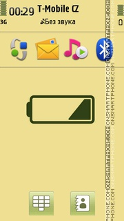 Battery Dying theme screenshot