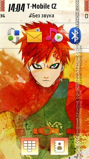 Gaara 09 theme screenshot