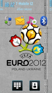 Euro 2012 05 theme screenshot