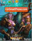 World Of Warcraft tema screenshot