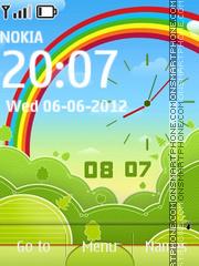 3d Rainbow Theme theme screenshot