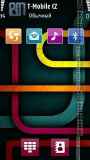 Green Maze theme screenshot