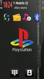 Playstation 04 tema screenshot