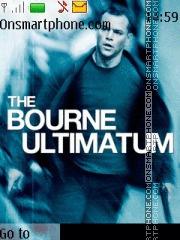 The Bourne Ultimatum tema screenshot