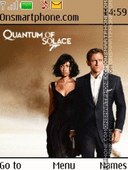 Quantum of Solace - James Bond theme screenshot