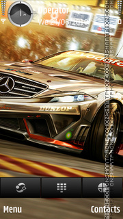 Mercedes nfs theme screenshot