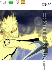 Naruto Mode Kyubi theme screenshot