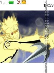 Скриншот темы Naruto Mode Kyubi