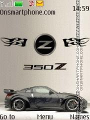 Nissan 350Z 14 es el tema de pantalla