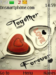 Together Forever 12 theme screenshot