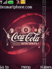 Coca Cola 2012 theme screenshot
