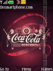 Скриншот темы Coca Cola 2012