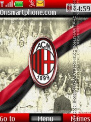 ACM Milan 01 theme screenshot