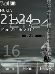 Sea 24 Hours theme screenshot