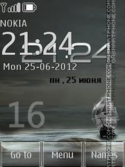 Скриншот темы Sea 24 Hours