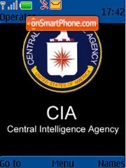 CIA theme screenshot