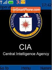 Скриншот темы CIA