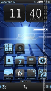 Nokia Techno Pro theme screenshot