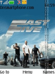 Fast Five tema screenshot