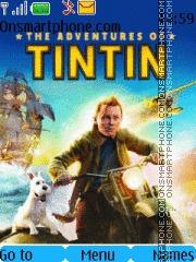 The Adventures of TINTIN The Secrets of Unicorn theme screenshot